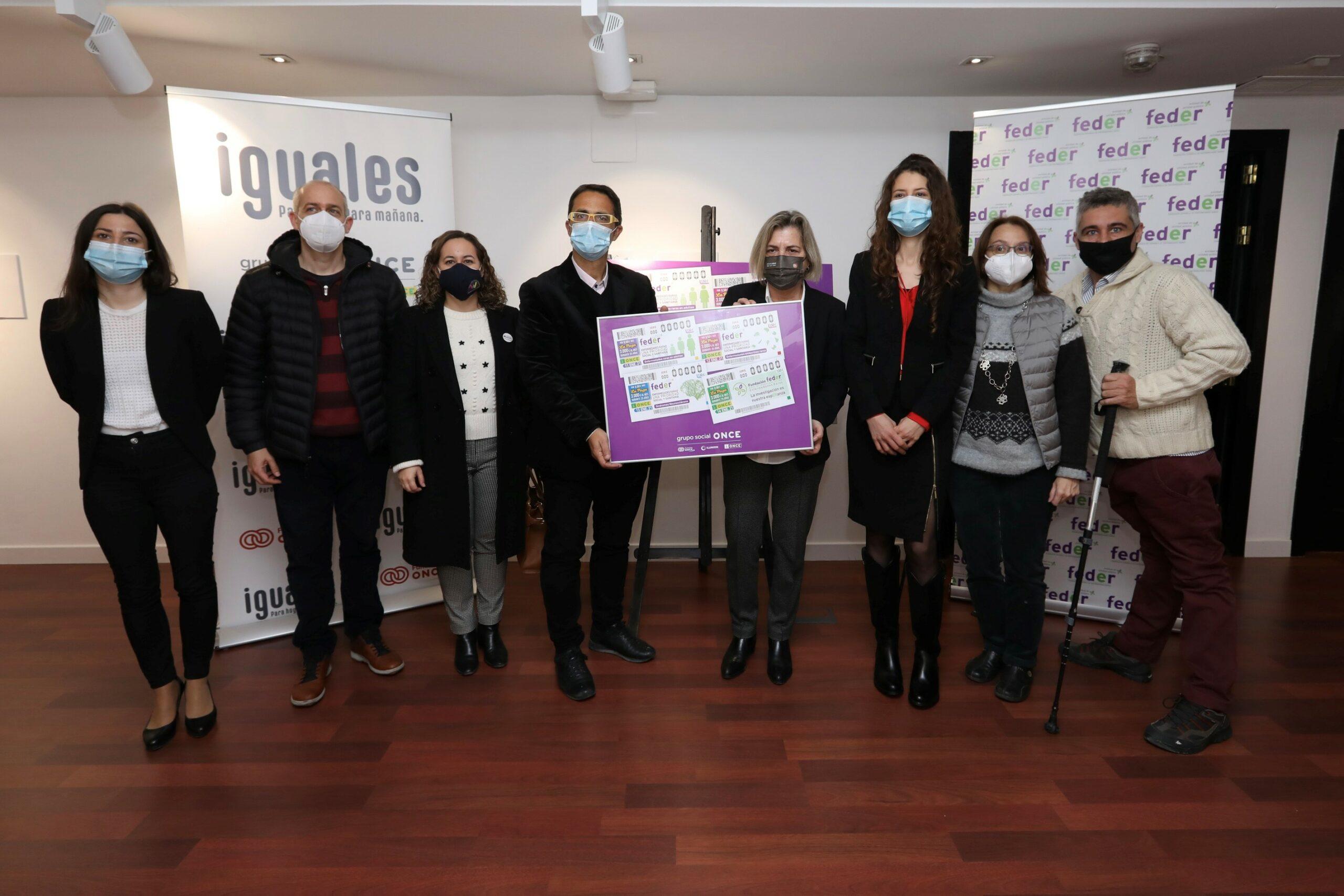 La ONCE dedica 22 millones de cupones para apoyar a las personas con enfermedades raras